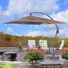 cantilever patio umbrella replacement canopy garden winds