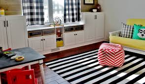Diy Built In Storage Remodelaholic Playroom Makeover With Built In Cabinets For Storage