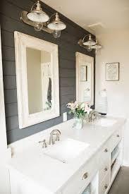 farmhouse bathroom ideas. This Bathroom Makeover Will Convince You To Embrace Shiplap Farmhouse Ideas B