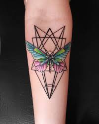 75 Excellent Butterfly Tattoo Geometric On Design For Man Tattoo