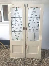 reclaimed glass doors art stained glass doors antique period reclaimed old french double reclaimed victorian stained