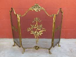 antique fireplace for popular french bronze screen vintage fireplace screens a71 fireplace