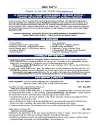 Project coordinator resume sample and get inspiration to create a good  resume 2