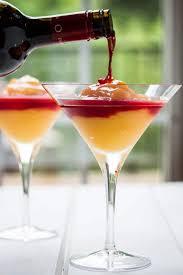 frozen peach bellini recipe with