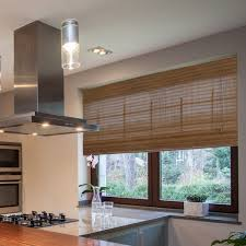 ... Brown Rectangle Classic Westside Roman Shades Bamboo Stained Design:  Inspiring roman shades bamboo ...