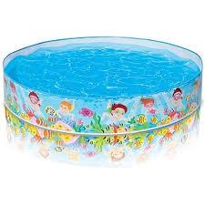 Купить надувной бассейн <b>Бассейн Intex</b> жесткий <b>Пляж</b> 152х25 см ...