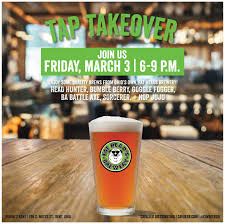 fat head s tap takeover cavalier distributing join us at panini s for a fat head s tap takeover featuring head hunter bumble berry goggle fogger ba battle axe sorcerer and hop juju