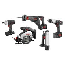 craftsman power tools. craftsman professional use 19.2 volt 5 pc. c3 combo kit | shop your way: online shopping \u0026 earn points on tools, appliances, electronics more power tools