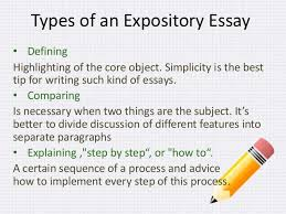 types of expository essays types expository writing