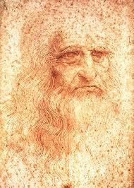 Леонардо да Винчи картины тайны биография творчество изобретения   Автопортрет Леонардо да Винчи
