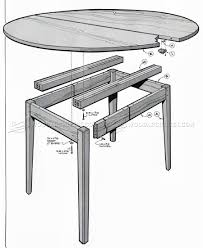 Oval Extension Table Plans ...