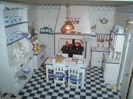 Dolls House Kitchen Furniture The Kitchen From Where The Yummy Food Gets Cooked Dolls House