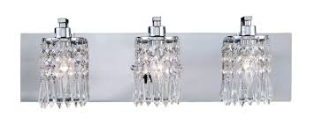 lighting 11230 3 crystal optix vanity light