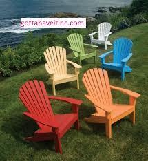 Seaside Casual Adirondack Shellback Chair 018 Gotta Have It Inc