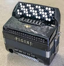 Pigini C System Convertor Bass Button Accordion Second Hand