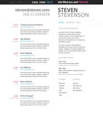 Resume Template Best Cv Format Formats Free Samples Examples