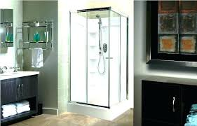 bathroom shower stall replacement cost mobile home doors enclosures mo