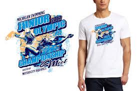 Swim Championship T Shirt Designs Swimming Tshirt Logo Design Junior Olympic Championship Meet