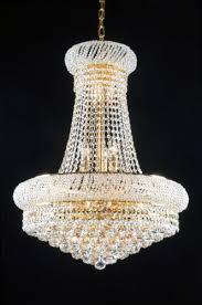 swarovski crystal lighting. Swarovski Crystal Trimmed French Empire Chandeliers Lighting - Great For The Dining Room, Foyer R