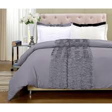 superior neola 3 piece microfiber duvet cover set