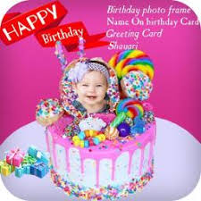 Birthday Greeting Cards Maker Photo Frames Cake App Ranking