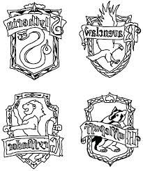 Harry Potter Coloring Pages Ravenclaw Pictures Free Coloring Page