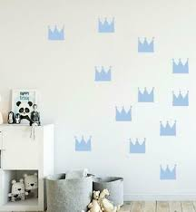 crown set decals wall sticker decor art
