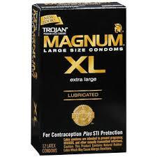 magnum xl size trojan magnum xl lubricated large size latex condoms ebay