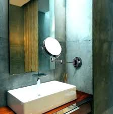 extendable bathroom mirror magnifying bathroom mirrors wall mounted wall mirrors extendable magnifying wall mirror extendable magnifying
