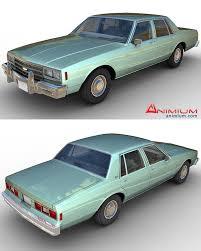 Chevrolet Impala 1984 3d model - Free 3d models