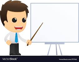 Cartoon Office Cartoon Office Worker Royalty Free Vector Image