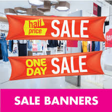 Sale Advertising Banner Printing From Aura Print