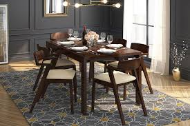 ven 4 to 6 glass top extendable dining table