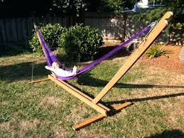 homemade hammock stand portable plans chair wood easy making how to build a diy brackets likable hammock hanging on pergola stand how to build