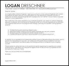 Network Engineer Cover Letter Waiter Resume Examples For Letters