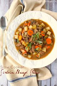 slow cooker sirloin beef stew