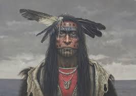 kirby sattler native american indian art paintings