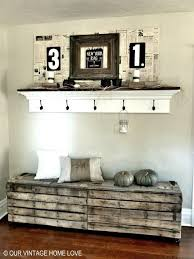 foyer furniture ideas. wonderful furniture rustic pallet bench entryway decorating ideas foyer  with furniture