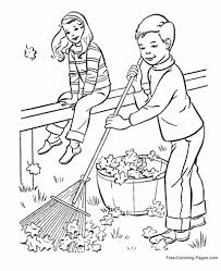 fall 04 autumn or fall coloring pages, sheets and pictures on fall coloring pictures