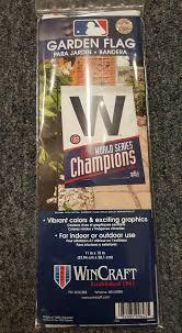chicago cubs world series champions garden flag