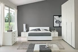 white nad grey bedroom in modern minima style black grey white bedroom