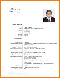 Standard Resume Format Doc Yralaska Com