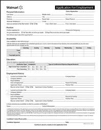 Walmart Application 30 Walmart Application Print Out Andaluzseattle Template