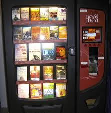 Buying Vending Machines Delectable Fancy Buying A Novel From This Vending Machine Photo Of The Day