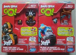 Rovio Hasbro Gaming Angry Birds Go Jenga The Blues' off Roadster ...