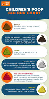 A Poop Colour Guide For Your Childs Health