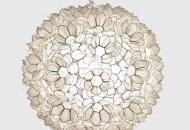 impressive capiz shell chandelier on jupiter fl pendant large by worlds away