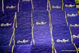 Ginny B crown royal quilt, Long Arm Free Motion Quilting by Lyn ... & Picture 1 of Ginny B crown royal quilt Adamdwight.com