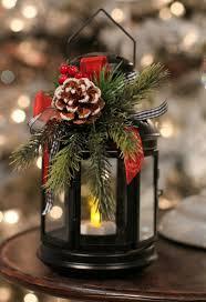 Laterne Dekorieren Weihnachtlich Gesteck Lichter Weihnachten