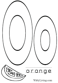 Letter Coloring Pages For Toddlers Letter A Coloring Page Letter O